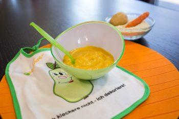 Karotten-Kartoffel-Fleisch-Brei